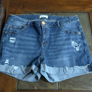 Jolt size 10 Blue Jean Shorts.  Like new